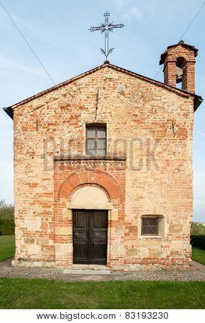 Small cute ancient church