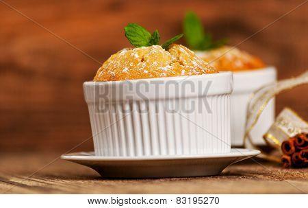Vanilla Souffle Or Cupcake