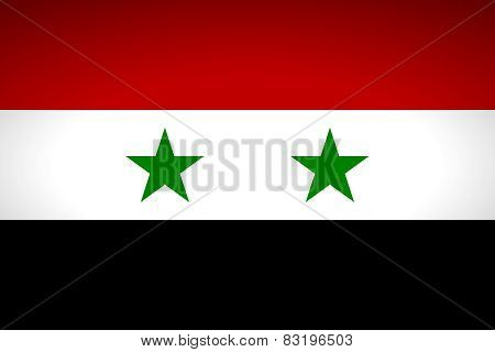 Flag Of Syria.