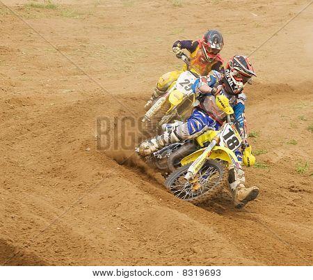 XX internationale Motocross in vladimir