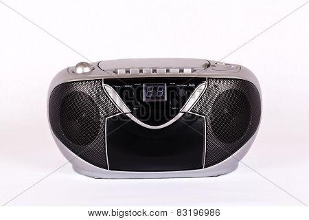 Portable silver radio