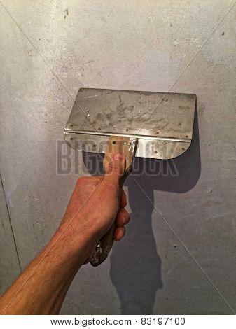 Hand with Scraper 02