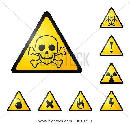 Warning signs / symbols