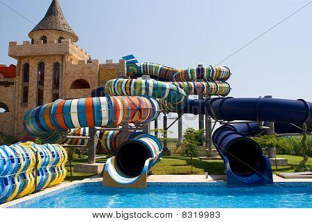 Aqua Park In Nesebar, Bulgaria