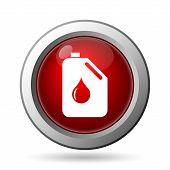 picture of oil can  - Oil can icon - JPG