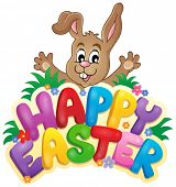 picture of tame  - Happy Easter sign theme image 6  - JPG