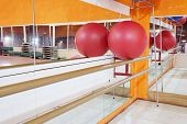 stock photo of pilates  - The image of a pilates ball - JPG