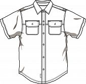 Men button down shirt