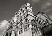 image of ferrara  - Ferrara Cathedral in Emilia Romagna region of Italy - JPG