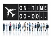 stock photo of punctuality  - On Time Punctual Efficiency Organization Management Concept - JPG