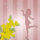 picture of mimosa  - illustration of Women - JPG