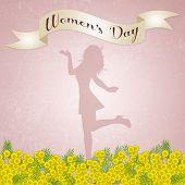 pic of mimosa  - illustration of Women - JPG