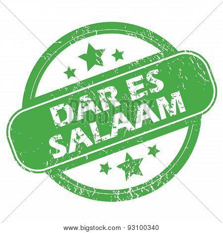 Dar Es Salaam green stamp