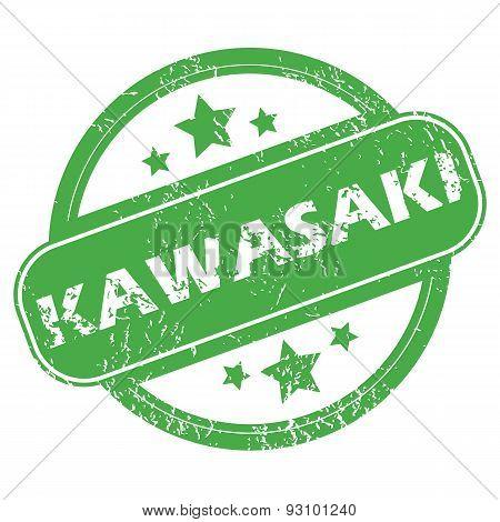 Kawasaki green stamp