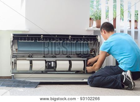 Cleaning The Air Conditioner