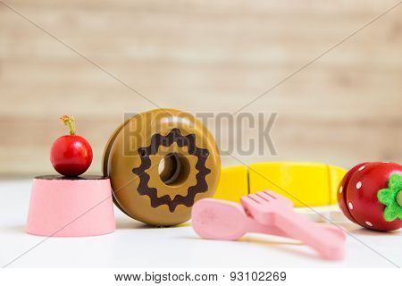 Food Preparation Toy Set For Kids
