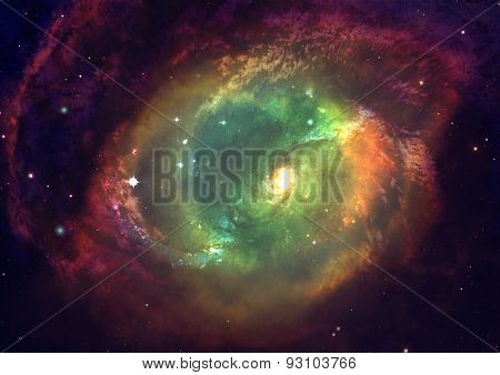 Being shone nebula