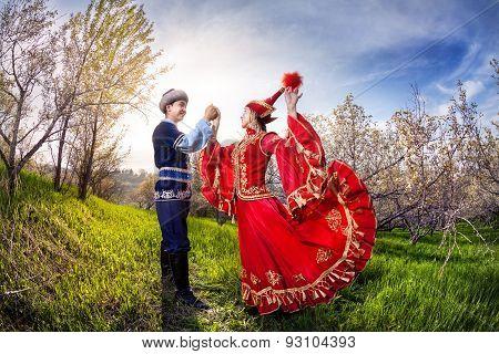 Kazakh Dancing