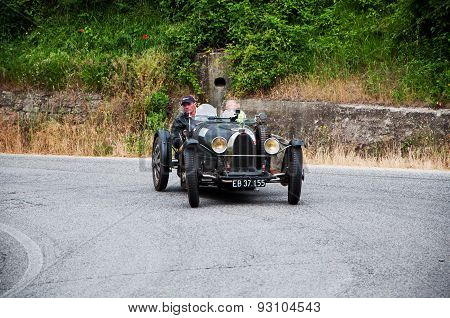 old car BUGATTI T 37 Grand Prix 1926   mille miglia 2015