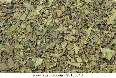 Dried Nettle As Background