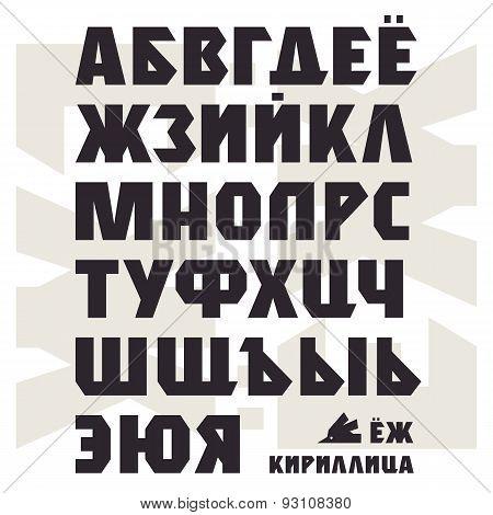 Bold Sans Serif Font