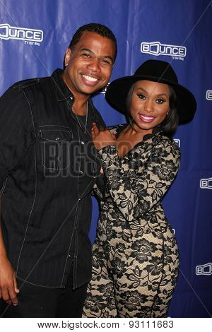 LOS ANGELES - JUN 9:  Omar Gooding, Angell Conwell at the