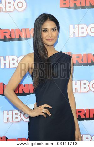 LOS ANGELES - JUN 8:  Melanie Kannokada at the HBO's