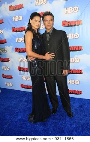 LOS ANGELES - JUN 8:  Esai Morales at the HBO's
