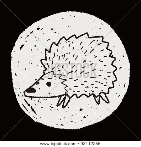 Hedgehog Doodle