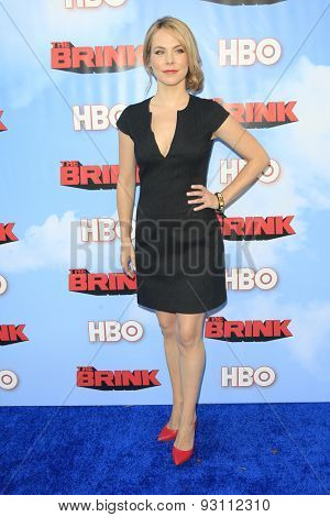 LOS ANGELES - JUN 8:  Mary Faber at the HBO's