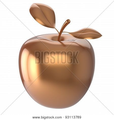 Apple Fruit Gold Yellow Nutrition Antioxidant Nutrition Icon