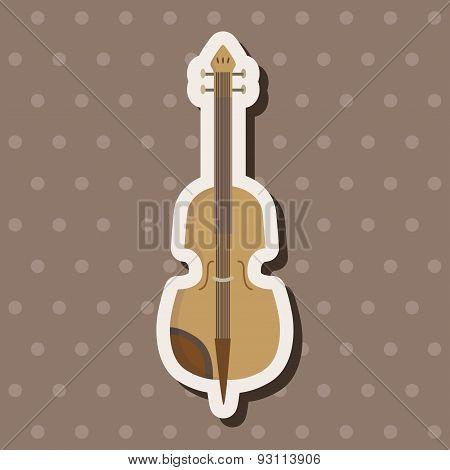 Instrument Cello Cartoon Theme Elements