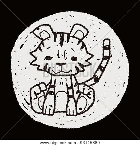 Tiger Doodle