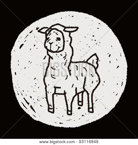 Llama Doodle