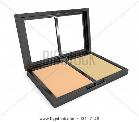 Pressed Powder Compact.