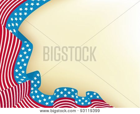 Fourth of july holiday background