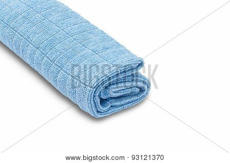 Cleaning Cloths Isolated on White Background