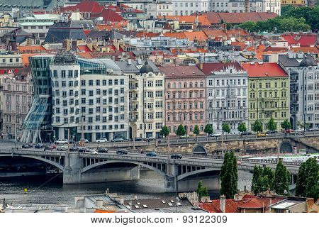 Prague Dancing House Or Fred And Ginger