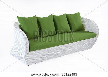 Wicker Sofa