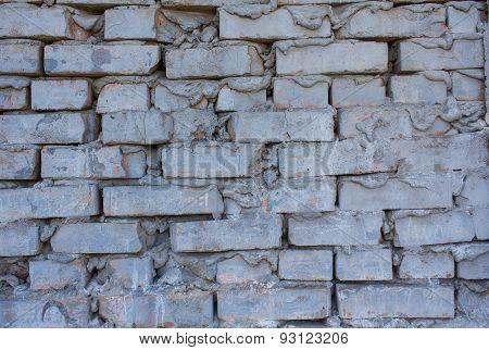 Brick Wall Rough Masonry. Stone Texture Background