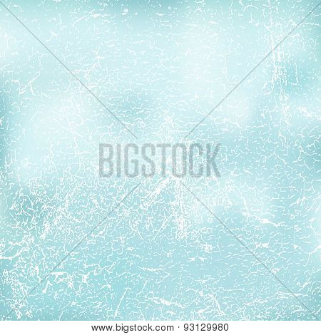 Grunge Retro Vintage Wall Texture, Vector Background. Abstract Gradient Background
