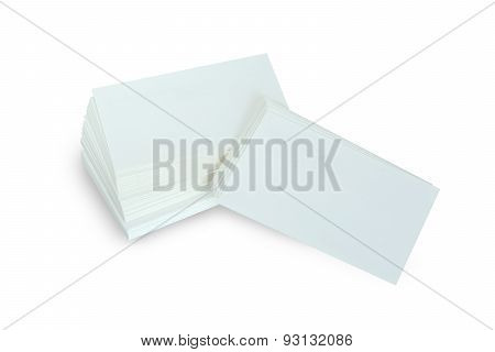Business Card Template For Branding Identity With Blank Modern D