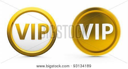 Gold Vip Icons