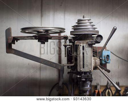 The Drilling Machine.