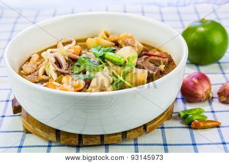 Thai Spicy And Sour Soup