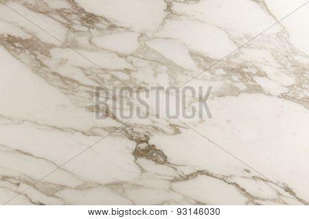 Carrara Marble Detail In Horizontal Format