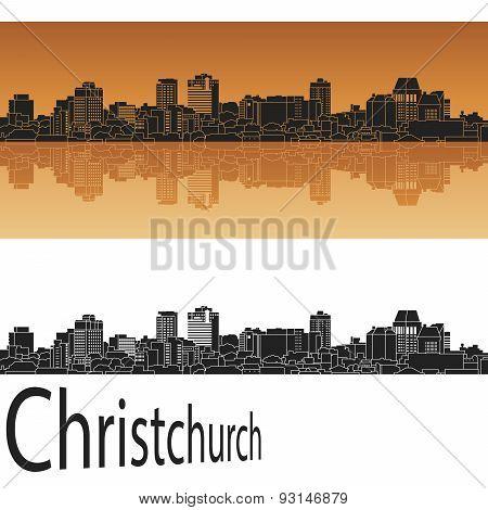 Christchurch Skyline