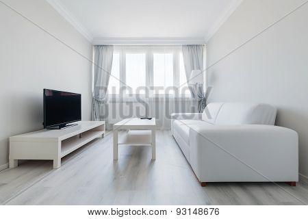 Pure And Clear Sitting Room