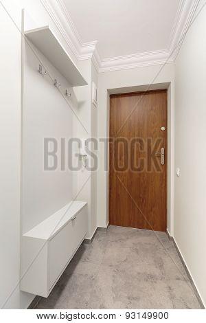 White Long Corridor