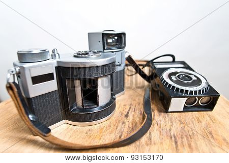 Old Analogue Panoramic Camera